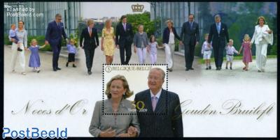 Royal golden wedding s/s