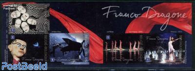 Franco dragone 5v s-a in booklet