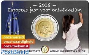 2 Euro 2015 European Development Year coincard