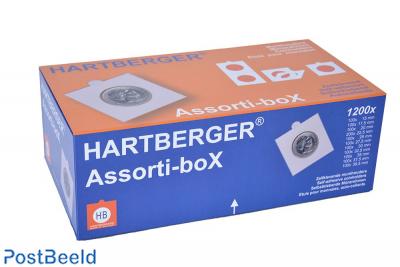 Hartberger assorti-box 1200 coinholders