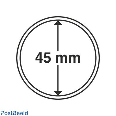 Leuchtturm Coin Capsules 45mm - 10x (303660)