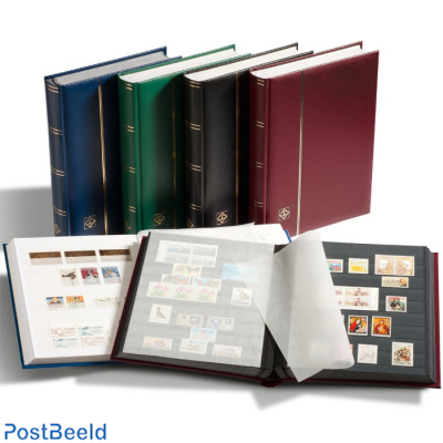 Leuchtturm Comfort Stockbook 32 White Pages (A4) Blue