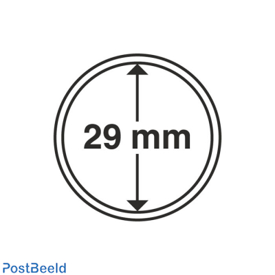 Numis 10x Coin Capsules 29mm
