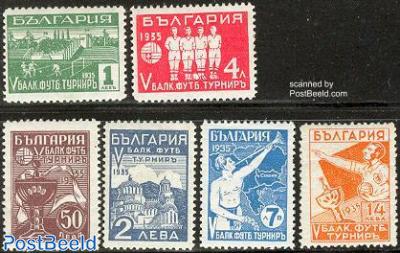 Balkan football games 6v