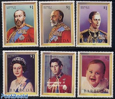 Kings & queens 6v