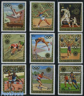 Olympic games 9v