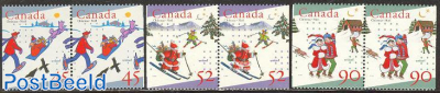 Christmas 3 booklet pairs