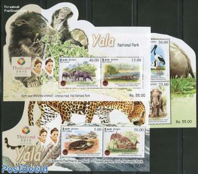 Yala National park, Thailand 2013 3 s/s