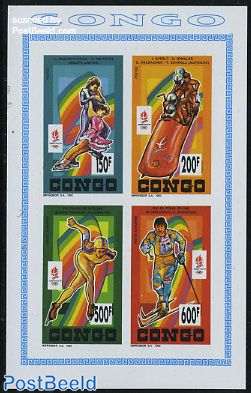 Olympic Winter Games 4v m/s imperforated