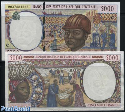 5000 Francs C