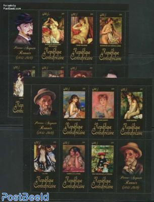 Renoir paintings 12v (2 m/s)