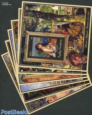 Renoir paintings 6 s/s