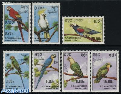 Parrots 7v