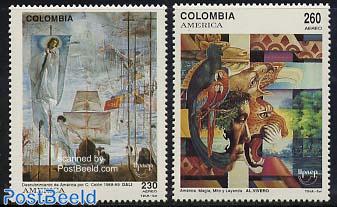UPAEP, Discovery, Dali, Vivero paintings 2v