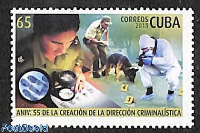 Criminal investigation service 1v