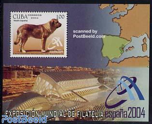 Espana 2004 s/s, dog