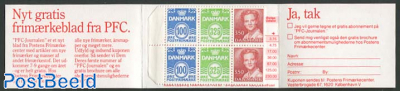 Definitives booklet (H34 on cover)