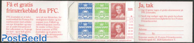 Definitives booklet (H35 on cover)