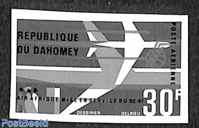DC-8 1V IMPERF.