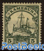 5pf, Kamerun, with WM, Stamp out of set