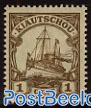 1c, Kiautschou, Stamp out of set