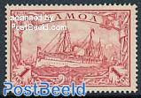 Samoa 1M., Stamp out of set