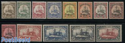 Neu-Guinea, Definitives, ship 13v