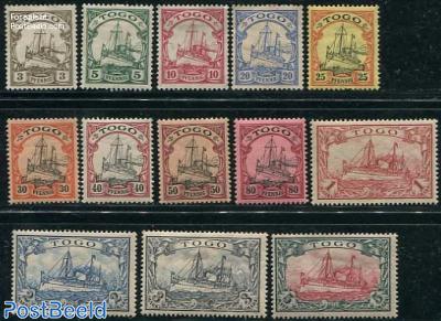 Togo, ships 13v