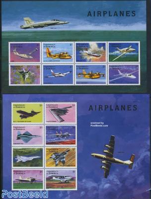Aeroplanes 16v (2 m/s)
