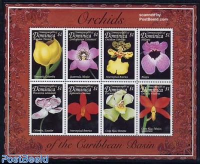 Orchids 8v m/s, Anguloa Clowesii