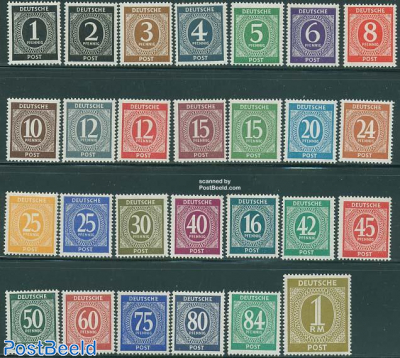 Allied occupation definitives 27v