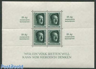 Reichsparteitag overprints s/s