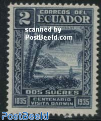 2s blue, Stamp out of set