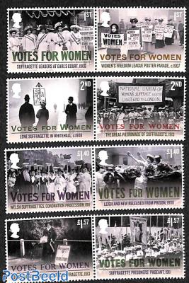 Votes for Women 8v (4x[:])