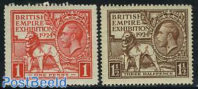 British empire exposition 2v