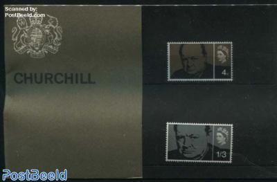 Churchill,  presentation pack