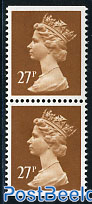 Definitive 27p, booklet pair