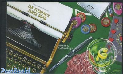 James Bond Prestige booklet (contains new 1st st.)
