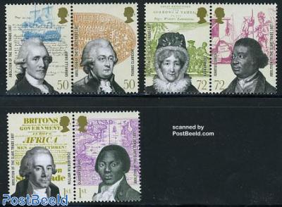 Abolition of the slave trade 3x2v [:]