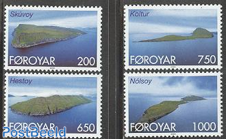 Definitives, Islands 4v