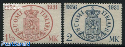75 years Finnish stamps 2v
