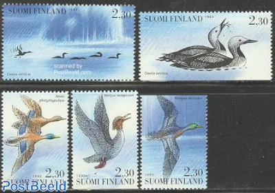Water birds 5v (from booklet)