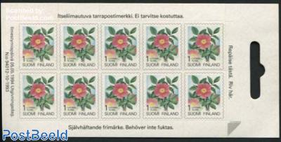 Flowers minisheet s-a