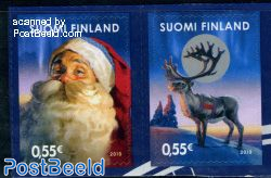 Christmas 2v s-a, joint issue Japan