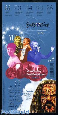 Eurovision songcontest 4v s-a (foil sheet)
