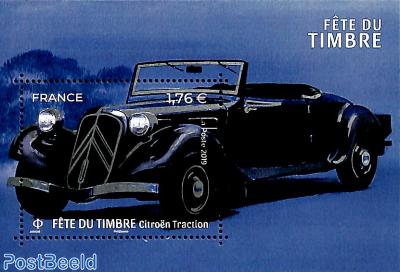 Citroën Traction Avant, fete du timbre s/s