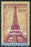 Eiffel tower 50th anniversary 1v