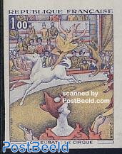 Seurat circus 1v imperforated