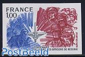Reserve officers 1v imperforated