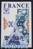 Expositions 1v imperforated